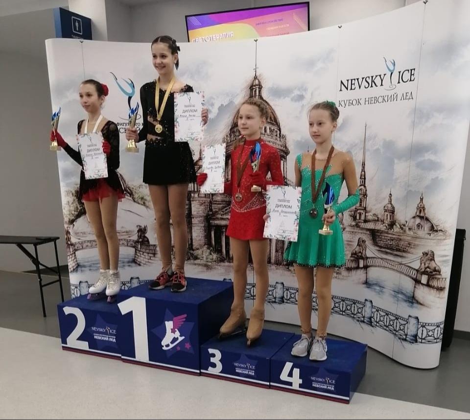 Анна Цырульникова , 4 место, 1 юношеский, Весенний кубок Невский лёд