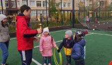 Веселые старты для детей Василеостровского района