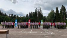 Прием нормативов ГТО у военного института войск Росгвардии