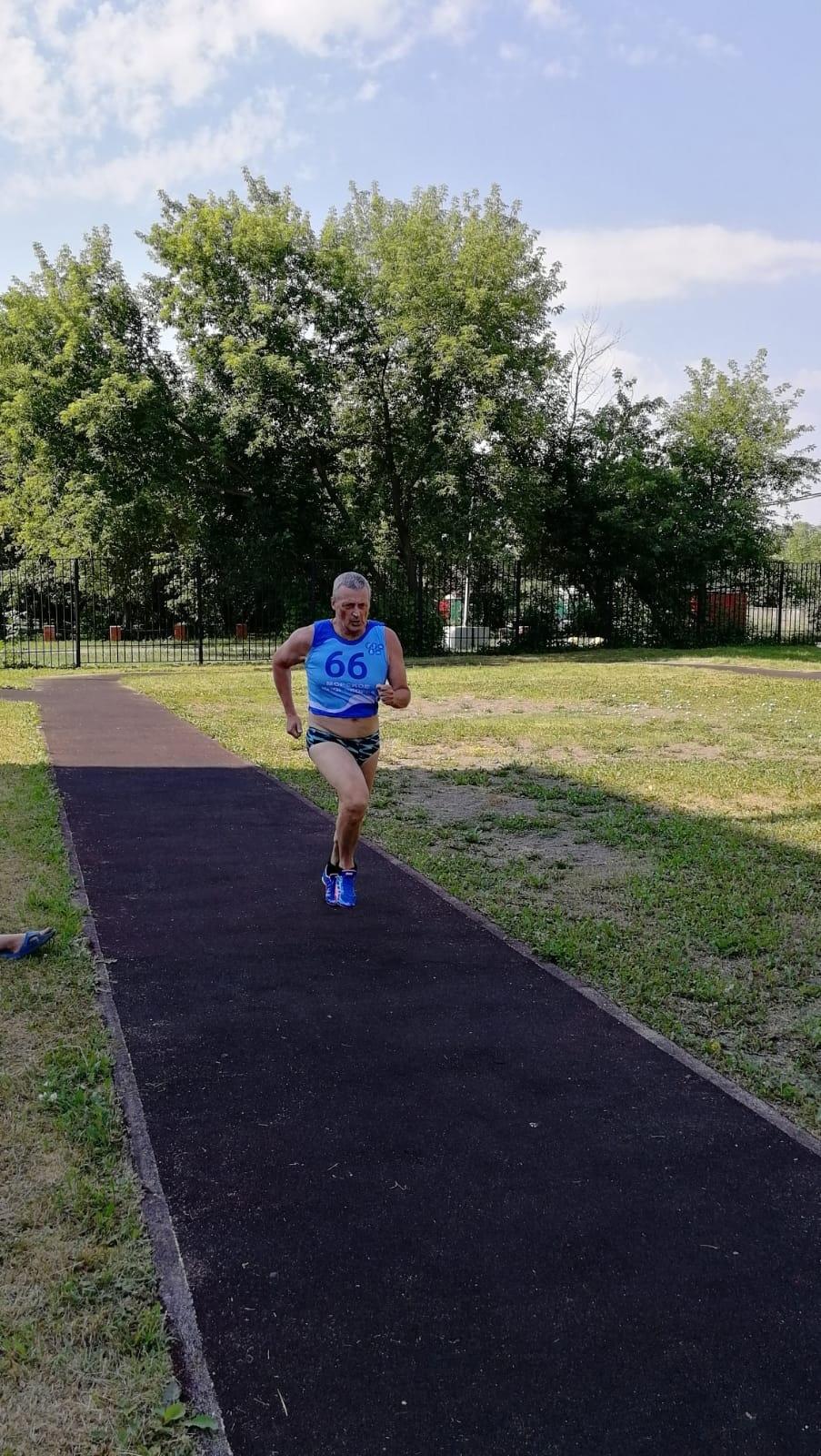 Коваленко фото с бега