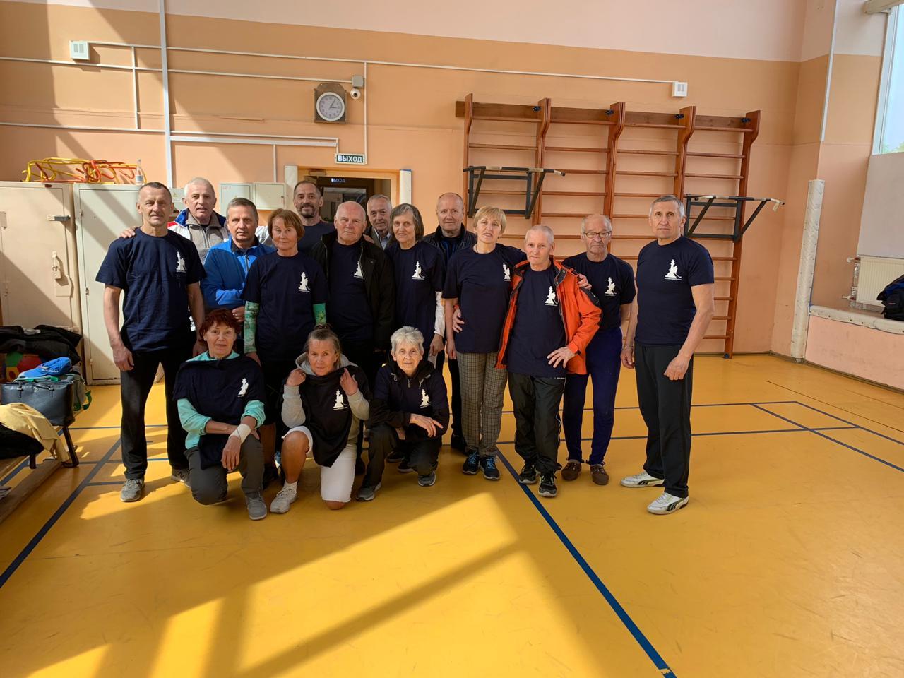 команда пенсионероа
