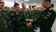 Награждение курсантов ВКА им. Можайского