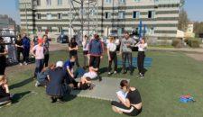 16 смотр физической готовности учащихся