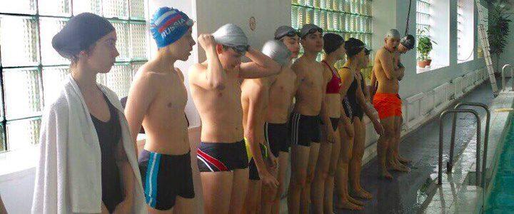 Прием норматива ВФСК ГТО по плаванию