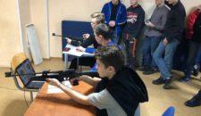 Тренировочные стрельбы среди учащихся 10 классов общеобразовательной учреждений Василеостровского района