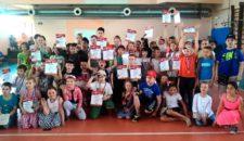 Отборочный этап Спартакиады летних городских лагерей