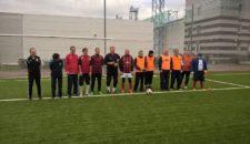 Турнир по мини-футболу, посвященный Дню пожилого человека