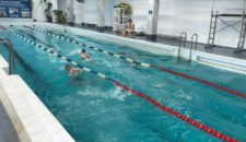 Соревнования по плаванию в рамках военно-прикладного многоборья