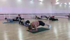 Массовая пропагандистская акция по суставной гимнастике для лиц пожилого возраста