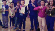 Весёлые старты и эстафеты прошли в Центре спорта для детей нашего района