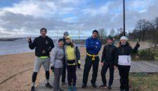 В понедельник 24 февраля прошел уже традиционный ежемесячный забег на длинную дистанцию!