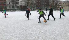 Турнир по мини-футболу среди студенческих команд Василеостровского района