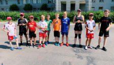 Прием нормативов ВФСК ГТО у занимающихся в секции хоккея, а так же награждение участников знаками отличия ГТО за предыдущие возрастные ступени