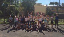 Весёлые старты среди детей Василеостровского района
