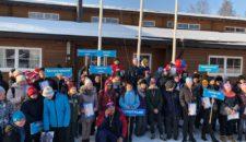 Соревнования по лыжным гонкам в рамках XI Спартакиады команд районов Санкт-Петербурга среди инвалидов и лиц с ограниченными возможностями здоровья