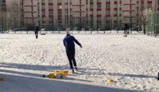 Прием нормативов ВФСК ГТО у спортсменов школы-интерната «Олимпийские надежды»