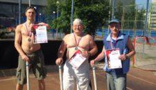 Открытые соревнования по городошному спорту среди жителей Василеостровского района