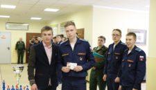 Торжественное награждение золотыми знаками отличия комплекса ГТО курсантов военного института физической культуры!