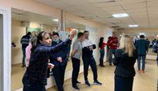 Дартс среди учителей и сотрудников общеобразовательных учреждений Василеостровского района