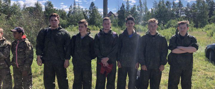 Открытый Кубок Санкт-Петербурга по пейнтболу среди военно-патриотических объединений