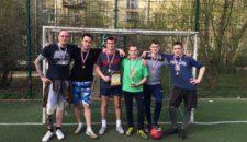 Студенты университета имени Макарова выиграли Кубок по мини-футболу!