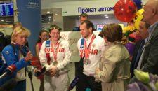 Встреча героев Сурдлимпийских игр-2017!