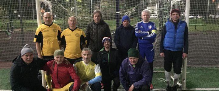 20 октября завершился Чемпионат района по мини футболу 55+ ⚽