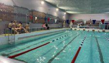 Приём норматива ВФСК ГТО по плаванию.