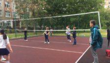 Турнир по пионерболу среди детей и подростков Василеостровского района