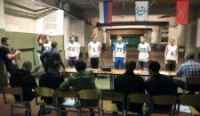 3 апреля прошли соревнования по военно-спортивной стрельбе