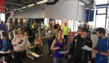 Нормативы всероссийского комплекса «Готов к труду и обороне» выполнили занимающееся фитнес-клуба X-fit