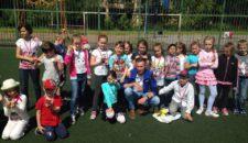 Любимое детское мероприятие — «весёлые старты» — провели инструкторы Центра спорта на Васильевсокм острове