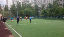 Чемпионат по дворовому футболу