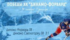 Спортивные соревнования хоккейного клуба «Динамо-Форвард».🏆🥅🏒
