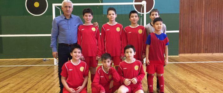 Городской этап соревнований по мини-футболу среди команд общеобразовательных организаций Санкт-Петербурга.
