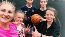 Турнир по баскетболу среди жителей Василеостровского района