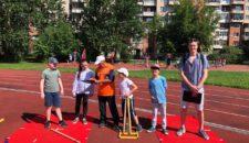 А прямо сейчас на базе СШОР Кировского района проходит первый этап городской Спартакиады летних городских лагерей отдыха детей и подростков