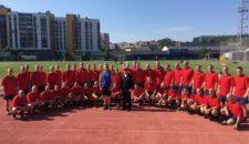 День физкультурника на Васильевском острове