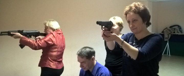 Открытые соревнования по стрельбе из электронного оружия на призы СПб ГБУ «ЦФКСиЗ ВО»