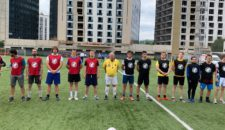Football tournament VI WPC youth forum