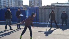 Открытые соревнования по городошному спорту среди жителей