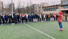 9 апреля, на базе СОШ №2 проводился прием норматива ВФСК ГТО «Метание спортивного снаряда»
