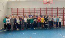 10 апреля центр тестирования ВФСК ГТО Василеостровского района принял нормативы у начальных классов 586 гимназии