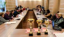 Награждение за участие в спартакиаде ВФСК ГТО 2018-2019 учебного года.