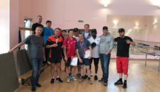 День семьи, любви и верности отметили на Васильевском соревнованиями по настольному теннису