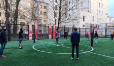 15 ноября в воскресенье на внутридворовых площадках проходило сразу 3 футбольных турнира