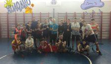 Турнир по флорболу среди школьных команд Василеостровского района