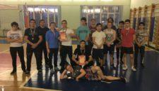 Открытые соревнования по силовому троеборью среди подростков Василеостровского района