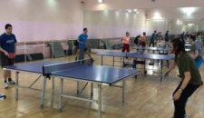 Открытый турнир по настольному теннису