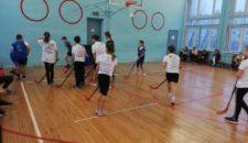 Соревнования по флорболу среди детей и подростков Василеостровского района
